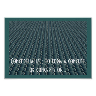 Creative Thinking Design - Conceptualize Poster