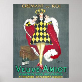 Cremant du Roi Vintage Champagne Poster