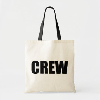 Crew Member - Event Team Staff Budget Tote Bag