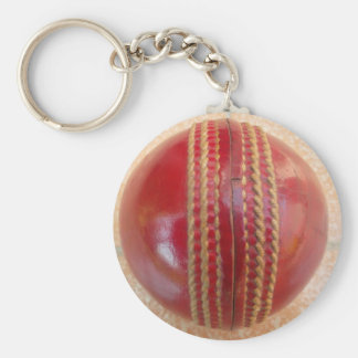 Cricket Ball.jpg Basic Round Button Key Ring