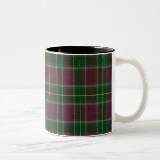 Crosbie Scottish Tartan Two-Tone Mug