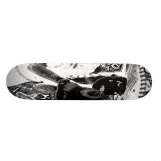 crying mexicana kisses skull skate board decks