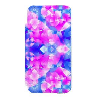 Crystal Flowers Mandala Incipio Watson™ iPhone 5 Wallet Case