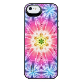 Crystal Hexagon Mandala iPhone SE/5/5s Battery Case
