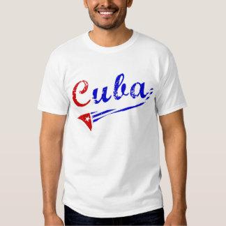 Cuba Shirt with Cuban Flag