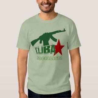 CUBA SOCIALISTA T SHIRT