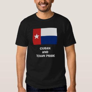 Cuban and Texan Pride Shirts