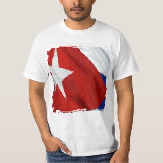 Cuban Flag Grunge 4 TShirt
