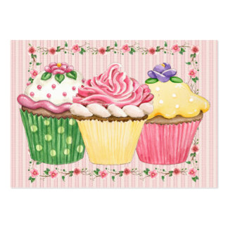 Cupcake / Bakery - SRF Pack Of Chubby Business Cards