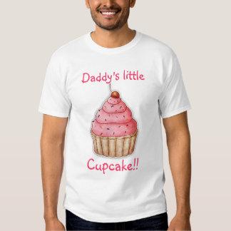 Cupcake For Little Girls, Daddy's Little Cupcake T-shirt