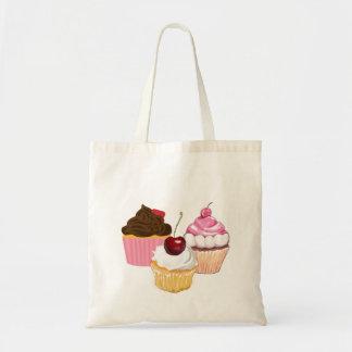 Cupcakes Shopping Tote Budget Tote Bag