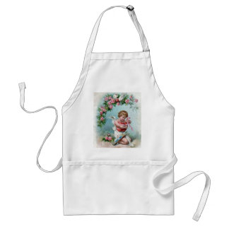 Cupid holding Heart Standard Apron