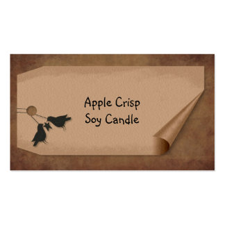Curl Tag Crows Hang Tag Pack Of Standard Business Cards