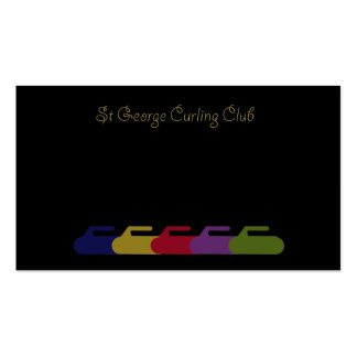 curling rainbow pack of standard business cards