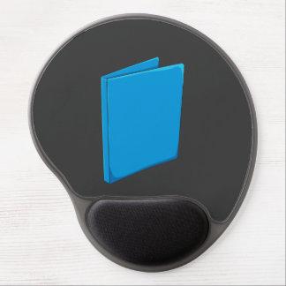 Custom Blue Binder Folder Greeting Playing Cards Gel Mouse Pad