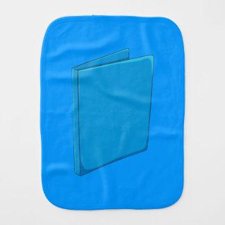 Custom Blue Binder Folder Shirt Kid Hoodies Jacket Baby Burp Cloths