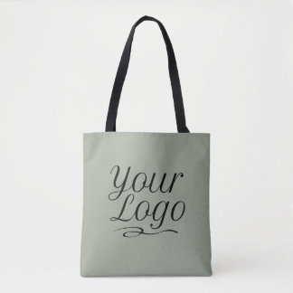 Custom Tote Bag with Business Logo & Custom Color