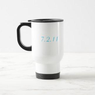 Custom Wedding Date Mug