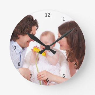 Custom your photo personalized wall clock, gift wall clocks