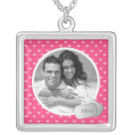 Customisable Photo & Dog Tags Square Pendant Necklace
