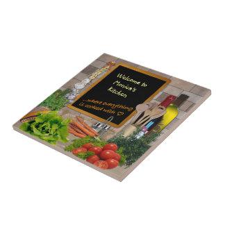 Customizable Kitchen Small Square Tile