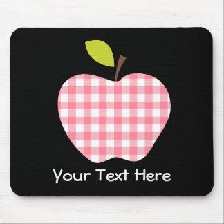 Customizable Teacher Apple Mouse Pad