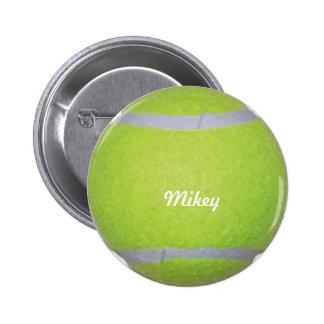Customizable Tennis Ball 6 Cm Round Badge