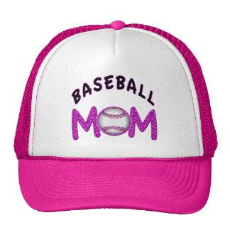 Cute Baseball Mom Hats in 12 Colors