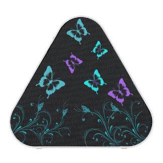 Cute Butterfly Triangle Speakers