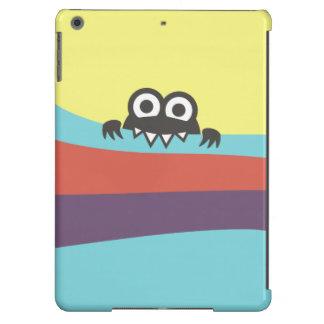 Cute Cartoon Character With Sharp Teeth Colorful iPad Air Cover