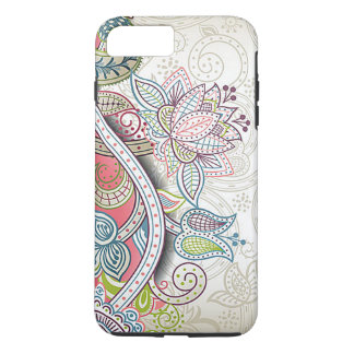Cute Chic Classic Ornate Vintage Floral Pattern iPhone 7 Plus Case