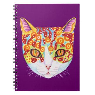 Cute Colorful Cat Notebook
