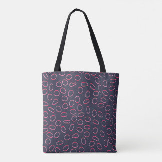 Cute Cool Unique Abstract Pattern Tote Bag