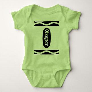 Cute Crayon Halloween Costume Baby Boy Girl T Shirts