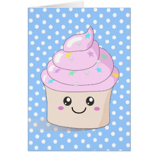 Cute Cupcake Greeting Card