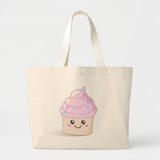 Cute Cupcake Jumbo Tote Bag
