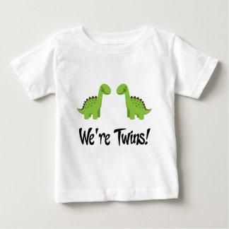 Cute Dinosaur Twins Gift Shirt