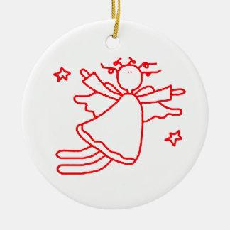 Cute Flying Angel Ornament