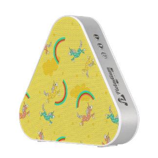 Cute Fun Unicorns rainbow yellow cartoon pattern