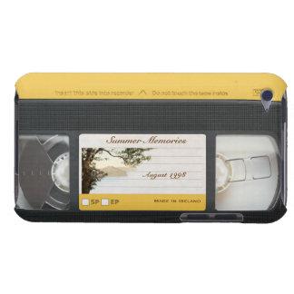 Cute Funny Retro Video Cassette iPod Touch 4G Case