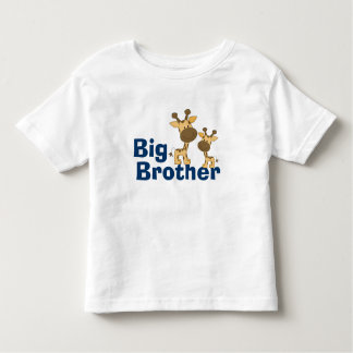 Cute Giraffe Big Brother Tee Shirts
