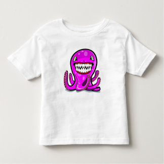 Cute little pink apple octopus for the cute kids shirts