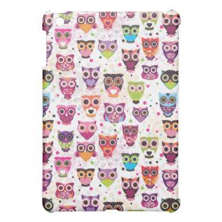 Cute owl ipad mini case