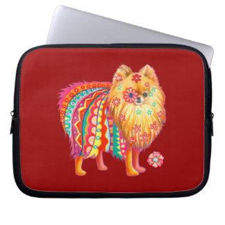 Cute Pomeranian Laptop Sleeve