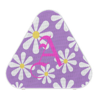 Cute Purple White Yellow Personalized Crazy Daisy