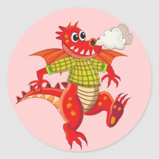 Cute sticker with Dragon