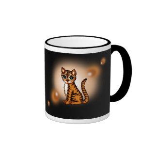 cute Tiger Ringer Mug