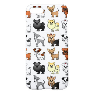 Cute Toy Dog Breed Pattern iPhone 7 Case