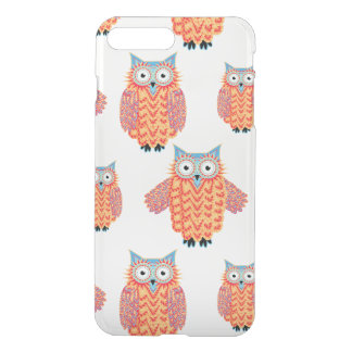 Cute Tribal Owl Colorful Pattern iPhone 7 Plus Case