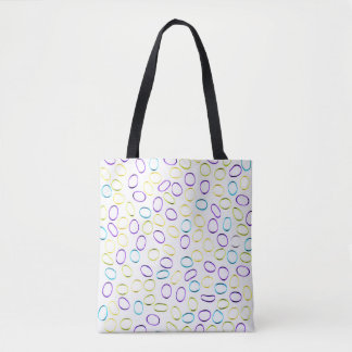 Cute Unique Abstract Pattern Tote Bag